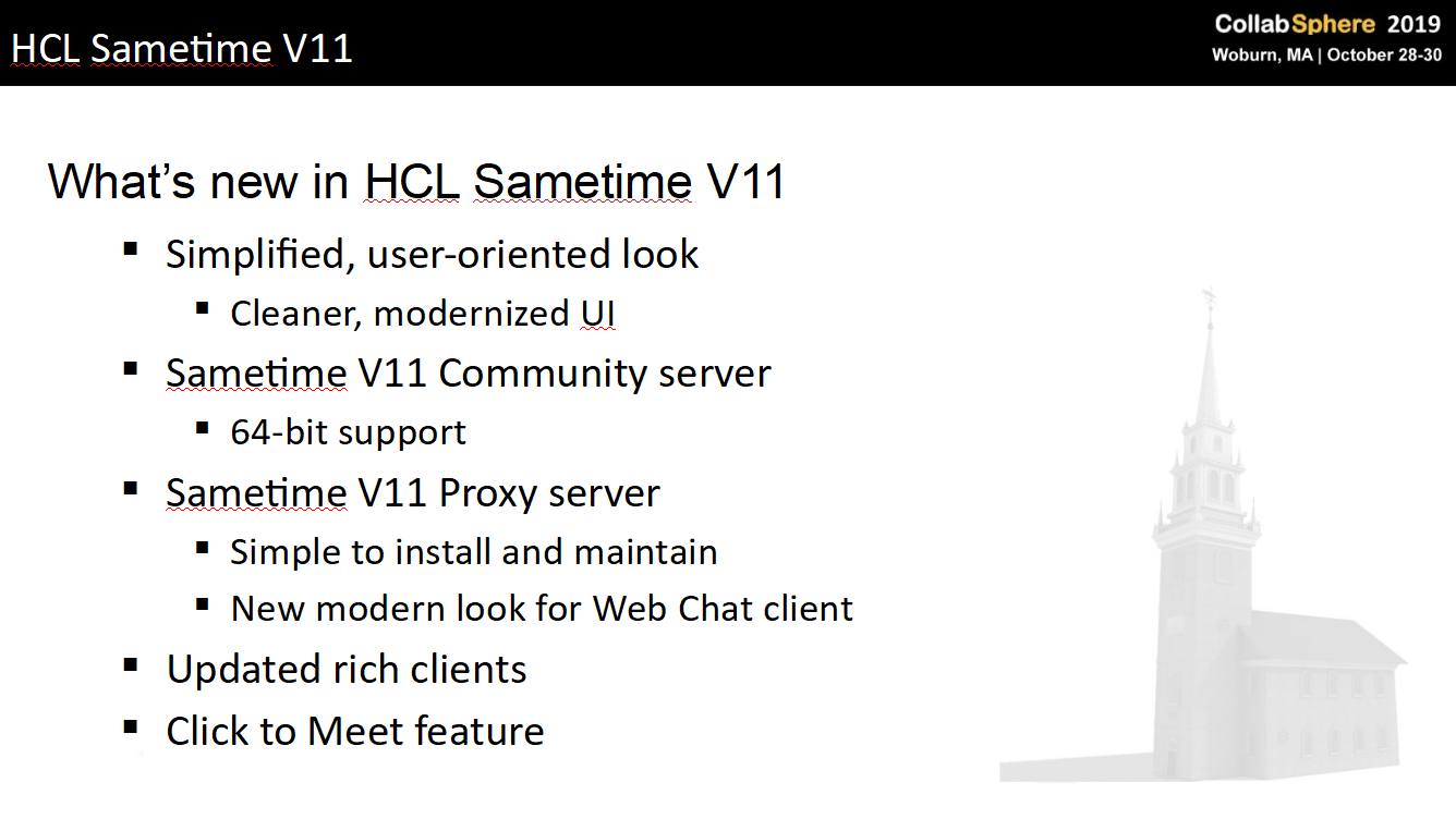 Sametime11-What-is-new