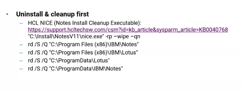 Uninstall_and_cleanup_HCL_Notes_for_CitrixVDI