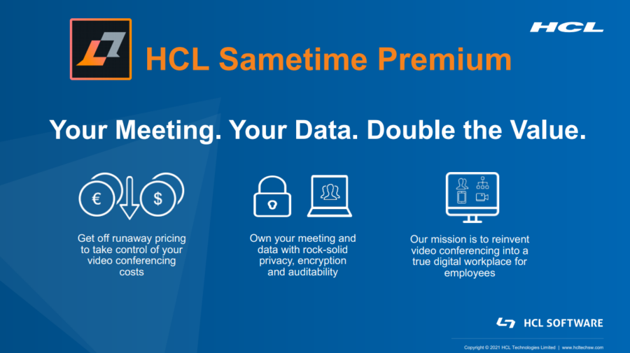HCL-Sametime-Premium-Overview