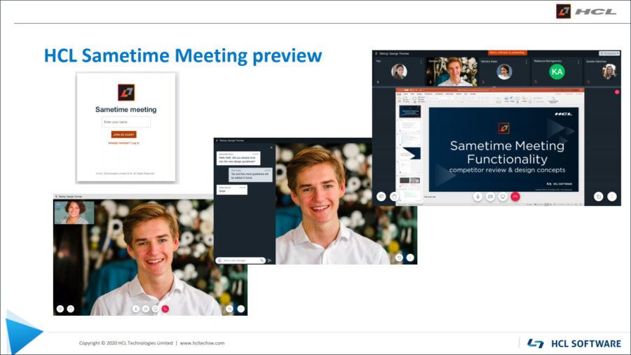 Sametime-Meetings