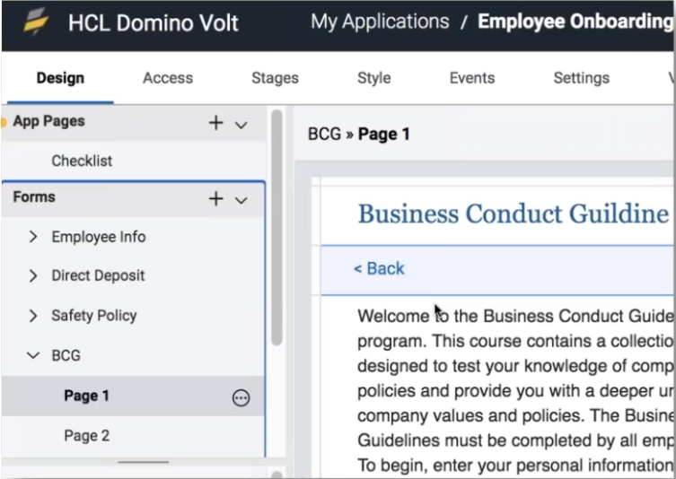 HCL-Domino-Volt-1.0.3-App-Pages