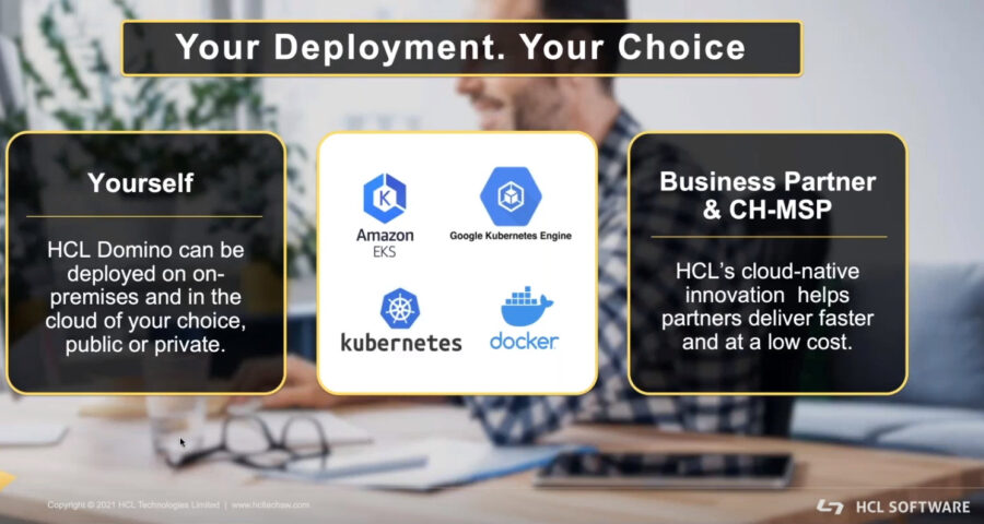 Domino Your Deployment Your Choice