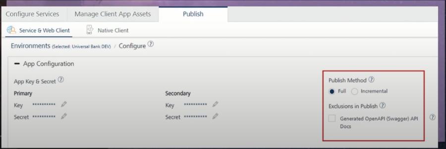 Volt MX 9.2 Foundry Publish Enhancements
